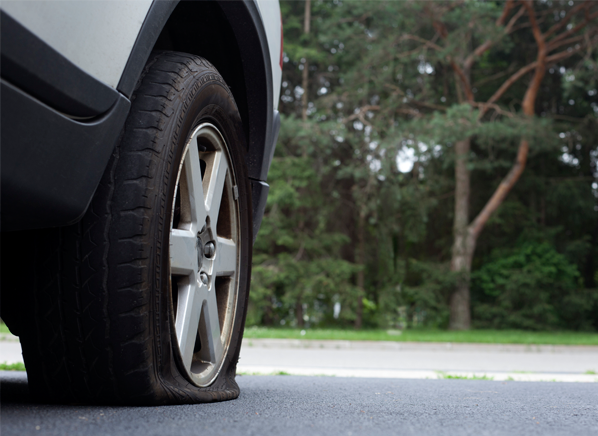 How to Fix a Flat Tire Without a Spare